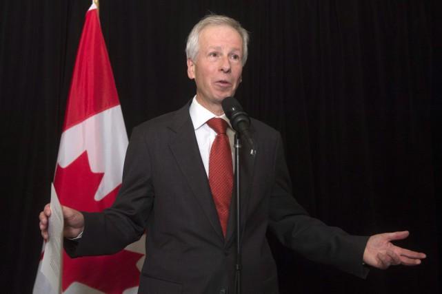 Le ministre des Affaires étrangères du Canada, Stéphane... (Photo Adrian Wyld, PC)