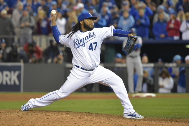 Johnny Cueto a compilé une fiche de 11-13 avec... (Photo Denny Medley, USA Today)
