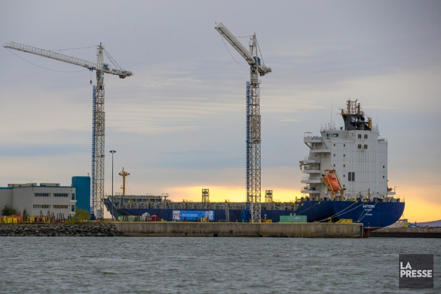 Les exportations du Canada ont baissé de 4,8%... (PHOTO MARTIN TREMBLAY, LA PRESSE)