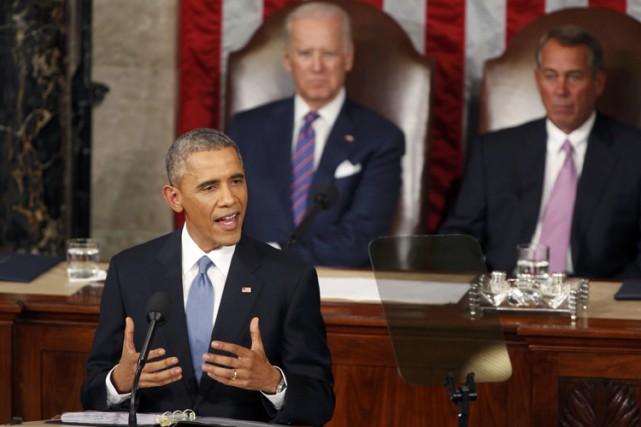 Prononcé chaque année par le président dans l'hémicycle... (PHOTO REUTERS)