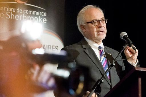« Je vois que l'économie du Québec va relativement bien. Nous avons repris le... (Spectre médias, Jocelyn Riendeau)