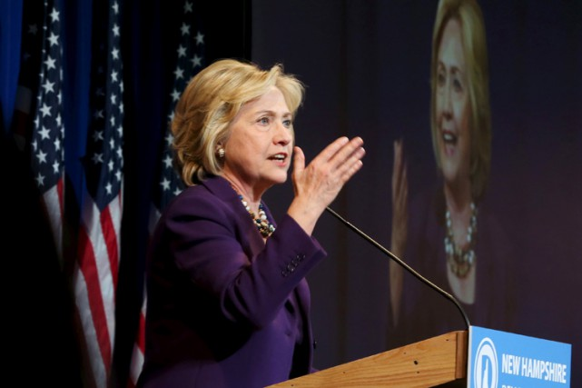 Hillary Clinton... (PHOTO REUTERS)