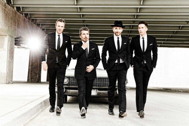 The Tenors, ce sont Fraser Walters, Remigio Pereira,... (fournie par The Tenors)