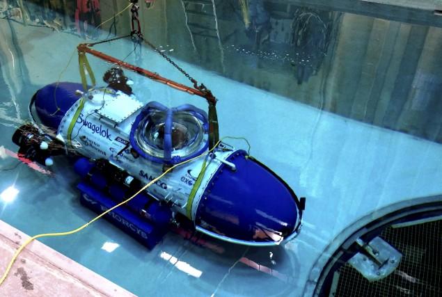 Douze étudiants de l'UdeS ont créé un sous-marin... (Photo fournie)
