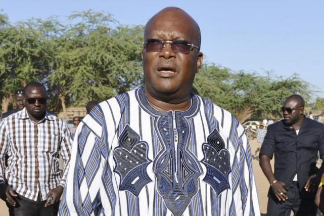M. Kaboré a obtenu la majorité absolue avec... (Photo AFP)