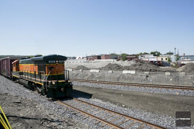 ÉDITORIAL / Alors que Chemin de fer Central Maine & Québec (CMQ) pourrait... (Archives, La Tribune)