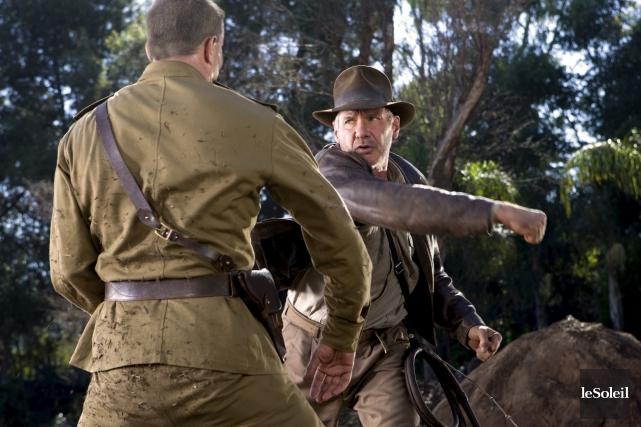 Harrison Ford dans Indiana Jones et le crâne... (Photothèque Le Soleil)