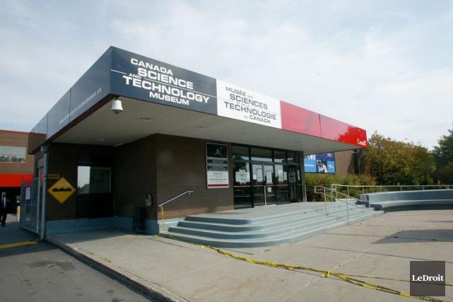 Le Musée des sciences et de la technologie... (Archives, LeDroit)