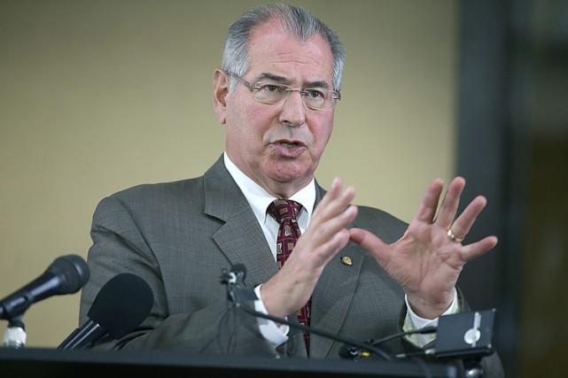Le procureur du comté de Hennepin, Mike Freeman,... (PHOTO AP)
