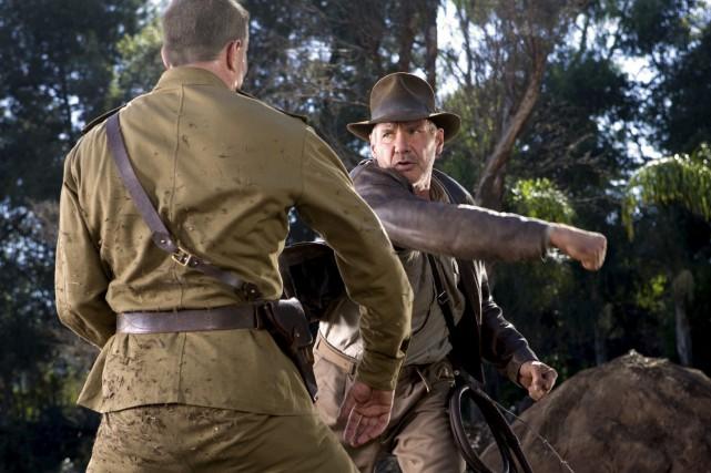 Harrison Ford dans Indiana Jones et le crâne... (Courtoisie)