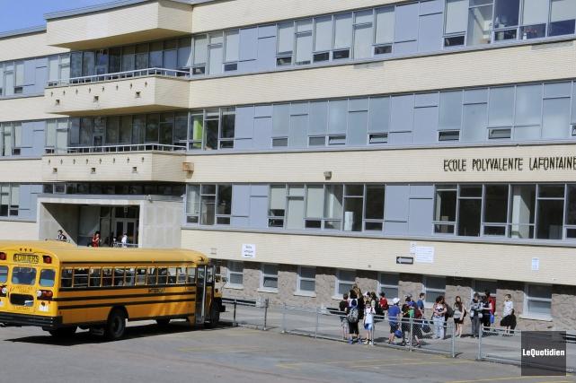 L'école Odyssée Lafontaine... (Archives Le Quotidien, Mariane L. St-Gelais)