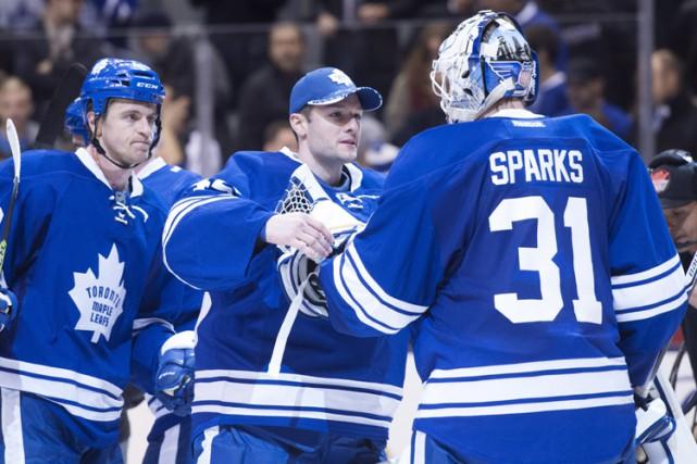 Les blanchissages ne viennent pas facilement pour les Maple Leafs de Toronto,... (PHOTO PC)