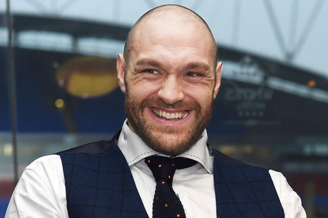 Tyson Fury a remporté, samedi, les ceintures WBA,... (AFP, Paul Ellis)
