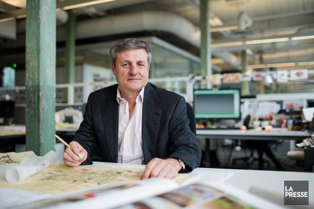 «Le modèle d'affaires qui nous intéresse, c'est d'avoir... (Photo Édouard Plante-Fréchette, La Presse)
