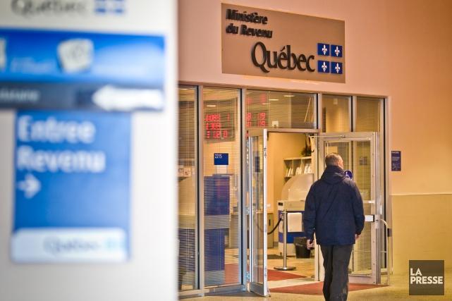 La Presse a appris queRevenu Québec met à... (PHOTO ANDRÉ PICHETTE, ARCHIVES LA PRESSE)