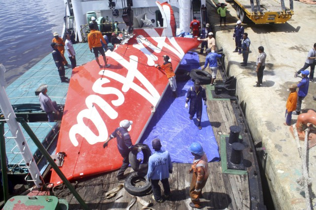 L'accident de l'avion d'AirAsia en Indonésie qui s'était... (PHOTO YUDAH MANX, ARCHIVES ANTARA FOTO/REUTERS)