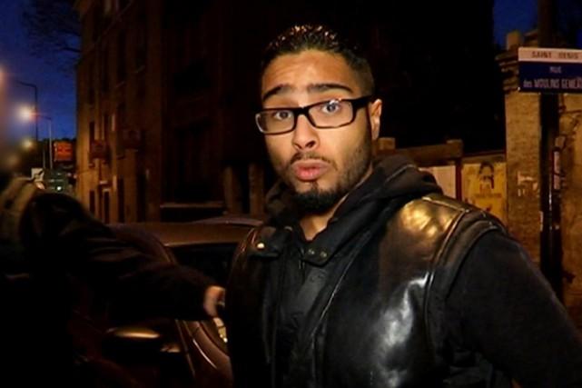 Mohamed S., 25 ans, a été arrêté en... (IMAGE AFP/BFMTV)