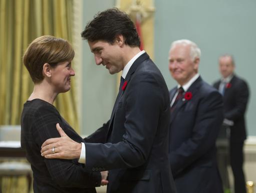 Marie-Claude Bibeau... (La Presse Canadienne)