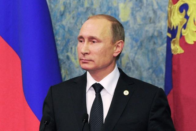 Le président russe, Vladimir Poutine... (Photo Mikhail Klimentyev, AP)