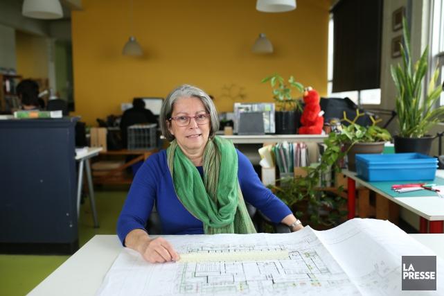 Malaka Ackaoui, présidente et cofondatrice de WAA, qui... (PHOTO MARTIN CHAMBERLAND, LA PRESSE)