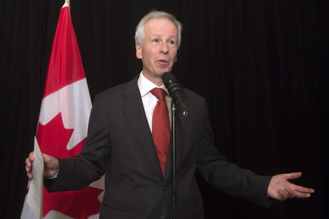 Le ministres Affaires étrangères, Stéphane Dion... (Photo Adrian Wyld, La Presse Canadienne)