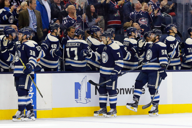 Les Blue Jackets de Columbus ont bouclé le... (Photo Russell LaBounty, USA Today)