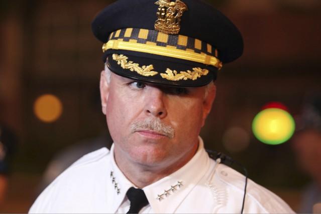 Garry McCarthy, chef de police de Chicago, photographié... (AFP, Tasos Katopodis)
