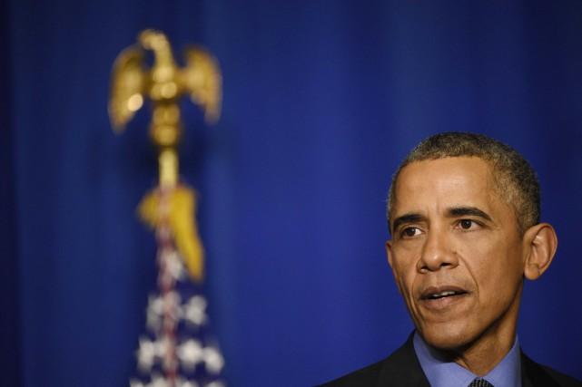 Le président Barack Obama.... (PHOTO MARTIN BUREAU, AFP)