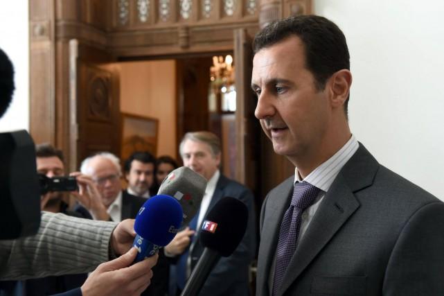 «L'échec d'Erdogan en Syrie, l'échec de son groupe... (PHOTO AFP/GOUVERNEMENT SYRIEN)