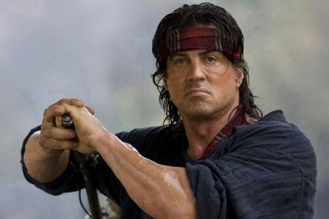 Sylvester Stallone, vedette de Rambo.... (PHOTO FOURNIE PAR LIONSGATE)