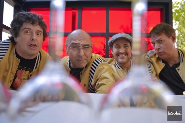 Le spectacle de RBO dans la Vieille Capitale... (Photo Yan Doublet, Le Soleil)