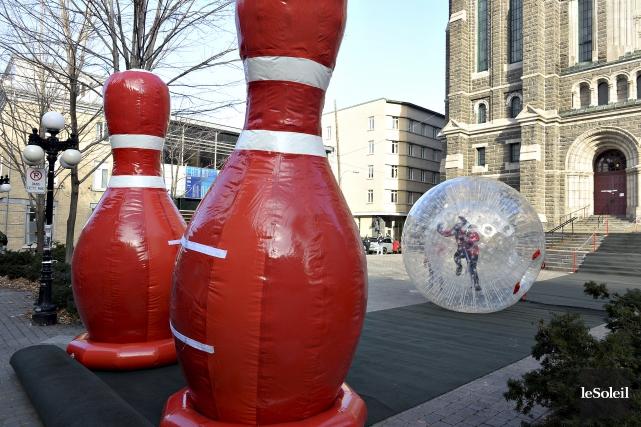 Outre le lancement de l'effigie du 62eCarnaval d'hiver,... (Le Soleil, Patrice Laroche)