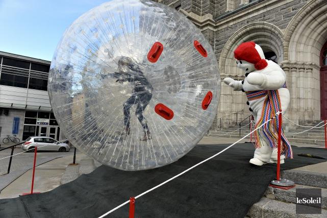 Le Carnaval de Québec présentera une nouvelle activité,... (Le Soleil, Patrice Laroche)