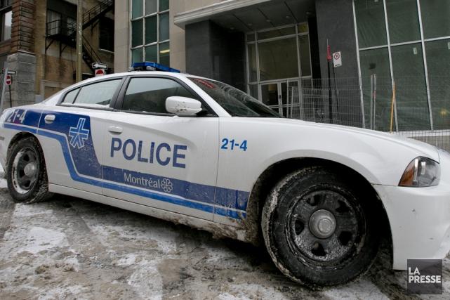 La Fraternité des policiers et policières de Montréal... (Photo David Boily, archives La Presse)