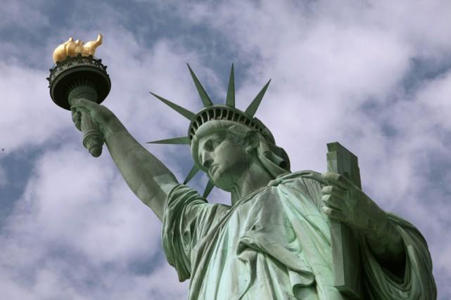 La Statue de la Liberté à New York est-elle une paysanne égyptienne? C'est ce... (ARCHIVES AP)