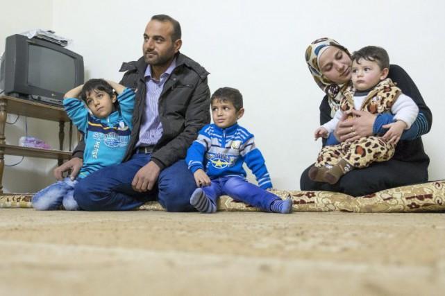 Des millions de personnes ont fui la Syrie... (Archives, La Presse Canadienne)
