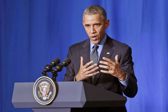 Le président américain, Barack Obama, fera un discours... (AP, Michel Euler)