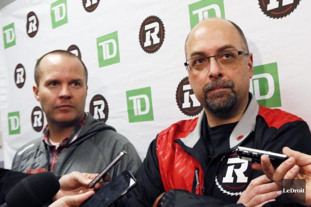 Rick Campbell et Marcel Desjardins resteront à Ottawa... (Simon Séguin-Bertrand, Archives Le Droit)