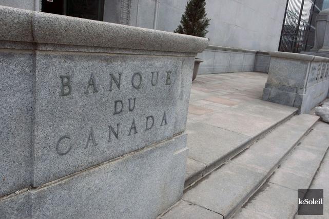 La Banque du Canada, qui a réduit à... (Photothèque Le Soleil)