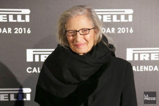 La grande photographe américaine de célébrités,Annie Leibovitz lors...