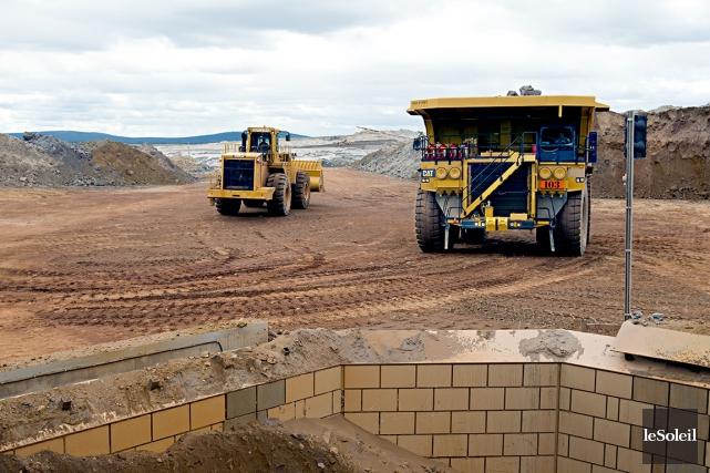 Les mines ont versé 134,7millions$ en redevance au... (Photothèque Le Soleil)