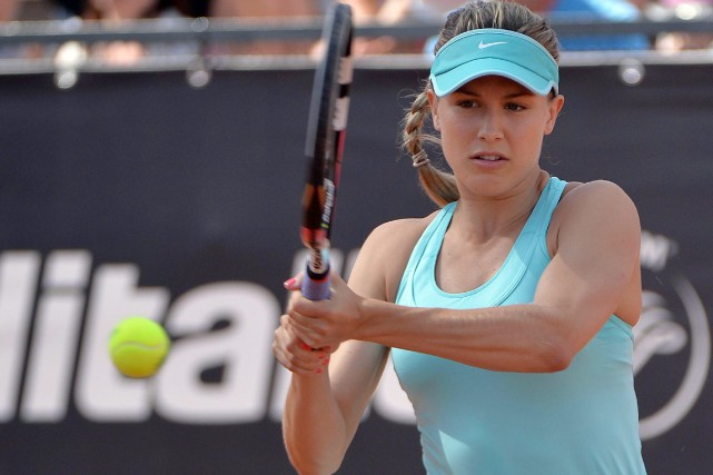 Eugenie Bouchard a confirmé sa présence aux Internationaux... (Archives Associated Press)