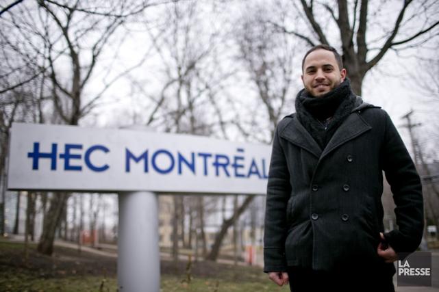 Nader Daher propose que HEC Montréal ajoute 5$... (PHOTO DAVID BOILY, LA PRESSE)