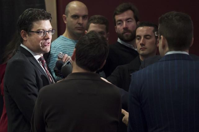 Ryan Jankowski, directeur du personnel des joueurs chez... (La Presse Canadienne)