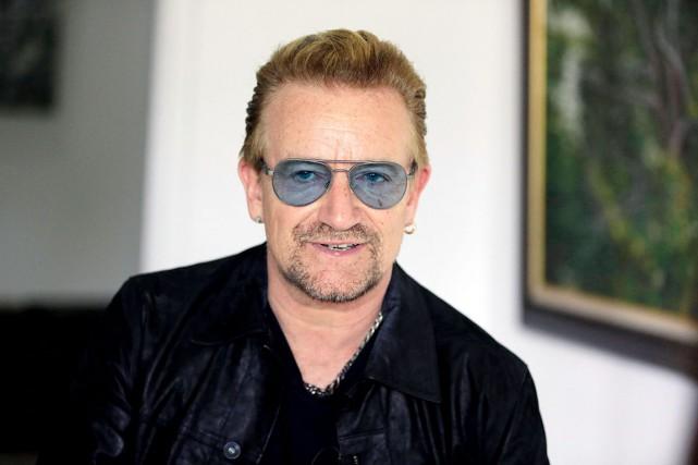 Bono espèreque U2, en spectacle à Paris cette... (AP)