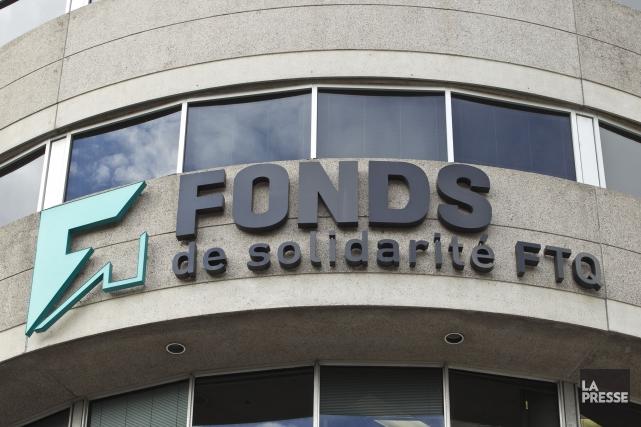 Le Fonds de solidarité FTQaannoncé qu'un montant de... (Archives La Presse)