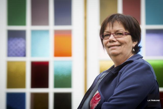 Suzanne Nadeau-Whissell, cette Sherbrookoise atteinte de la SLA,... (Archives, La Tribune)