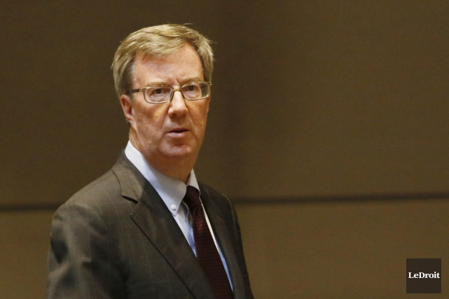 Le maire Jim Watson, un grand adepte du... (Simon Séguin-Bertrand, Archives LeDroit)