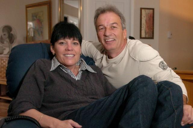Ginette Leblanc et Claude Deschesnes en 2011.... (Photo: François Gervais)