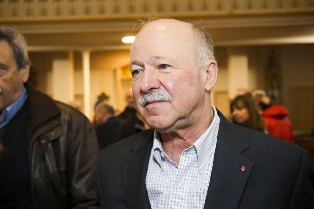 Le libéral Denis Paradis convoite les fonctions de... (Photo Julie Catudal, La Voix de l'Est)